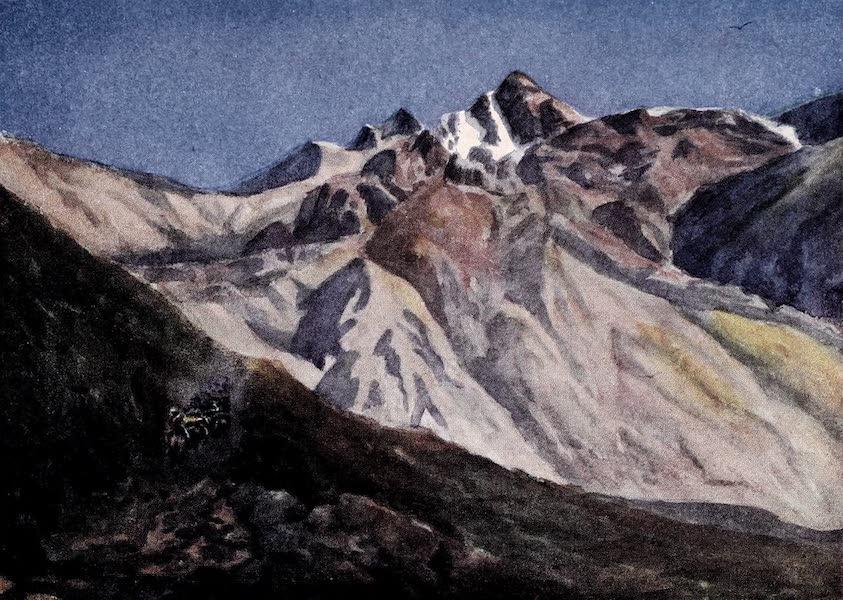 Argentina, Past and Present - Ascending Las Cuevas Pass (1914)