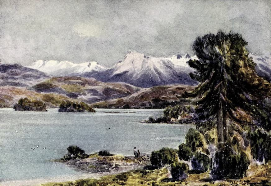 Argentina, Past and Present - Moquhue Lake (1914)