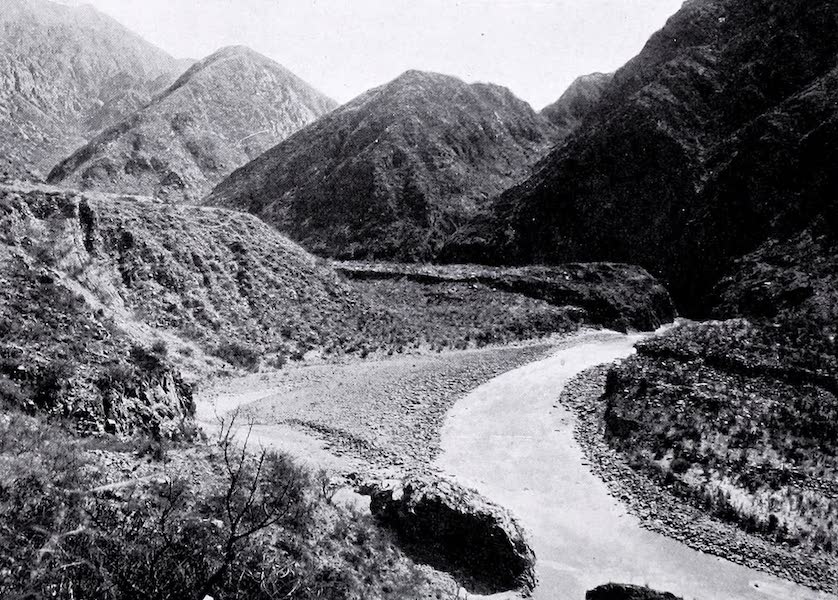 Argentina, Past and Present - Andine Scenery (1914)