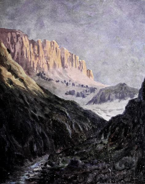 Argentina, Past and Present - Los Penitentes (1914)