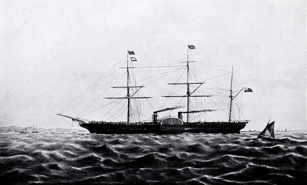Argentina, Past and Present - The Progress of Shipping : The Medway, 1854 (1914)