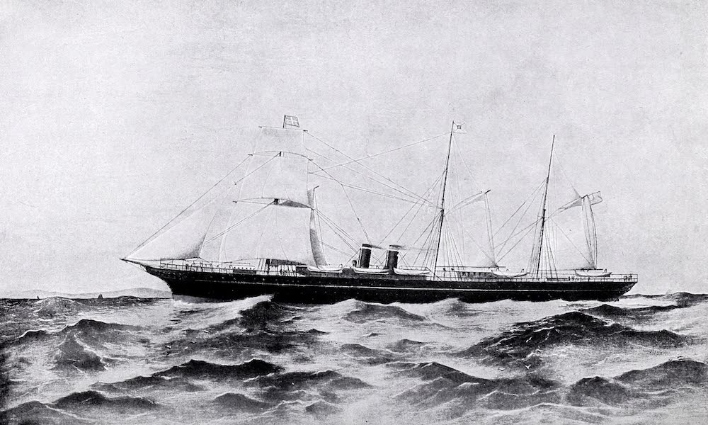 The Progress of Shipping : The Medway, 1854