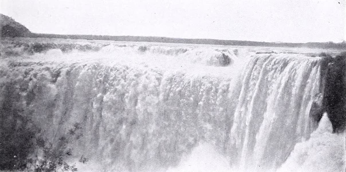 Argentina, Past and Present - The Main Fall, Igazu (1914)