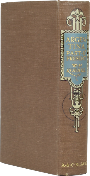 Argentina, Past and Present - Book Display III (1914)