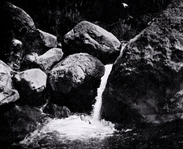 Argentina, Past and Present - A Rocky Pool in the Cordoba Hills (1914)