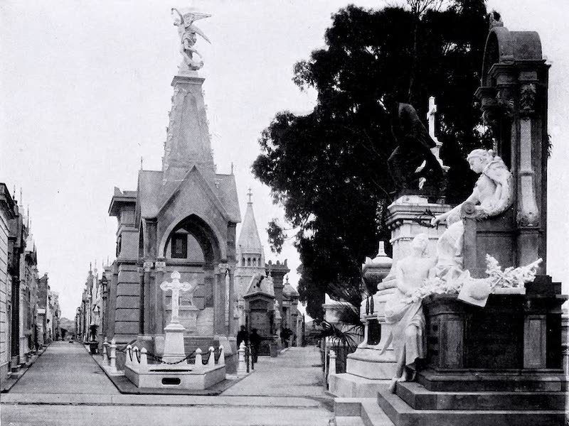 Argentina, Past and Present - Buenos Aires : The Recoleta (1914)