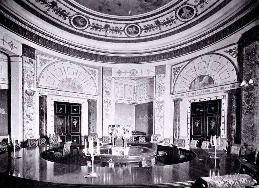 Argentina, Past and Present - The Jockey Club : A Private Dining-Room  (1914)