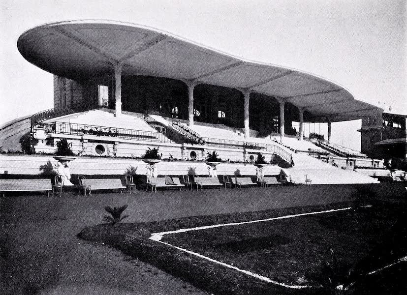 Argentina, Past and Present - Palermo Race Course : the Members' Stand (1914)