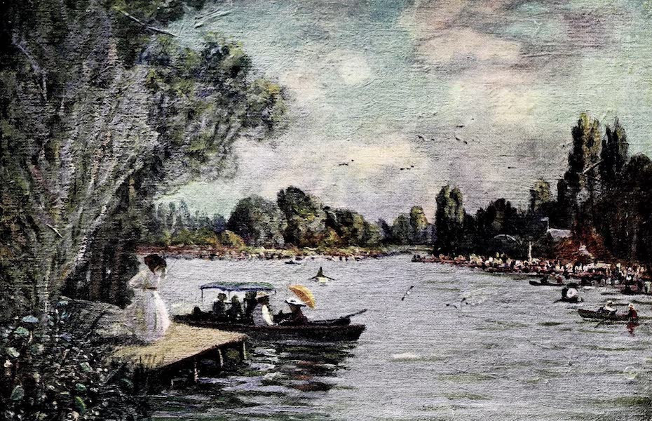 Argentina, Past and Present - Sunday on the Tigre (1914)