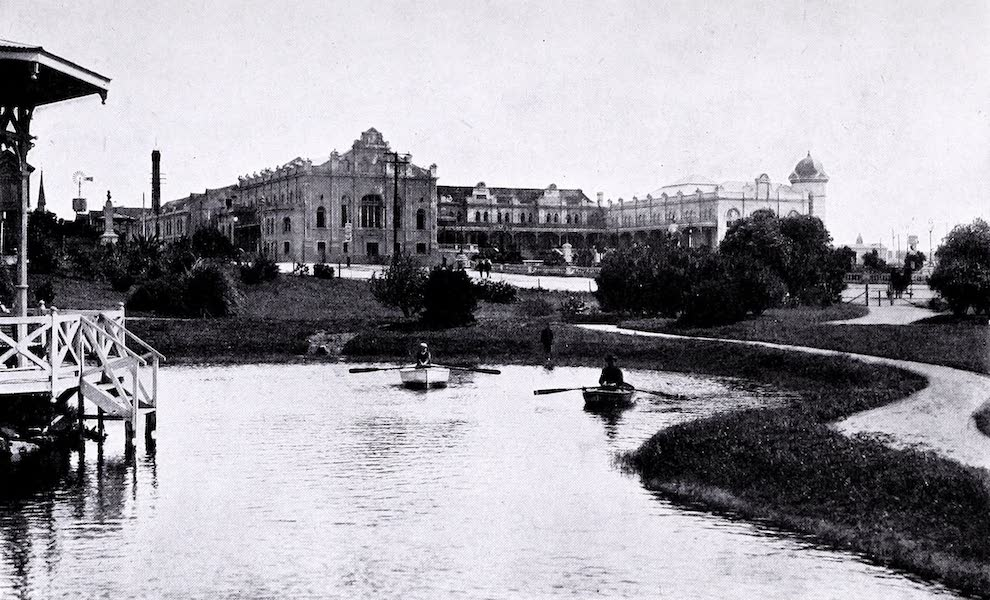 Argentina, Past and Present - Mar Del Plata : The Bristol Hotel (1914)