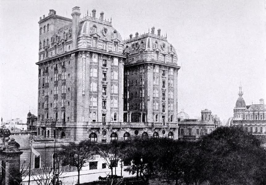Argentina, Past and Present - Buenos Aires : The Plaza Hotel (1914)