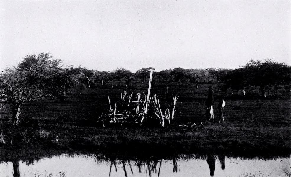 Argentina, Past and Present - A Campo Graveyard (1914)