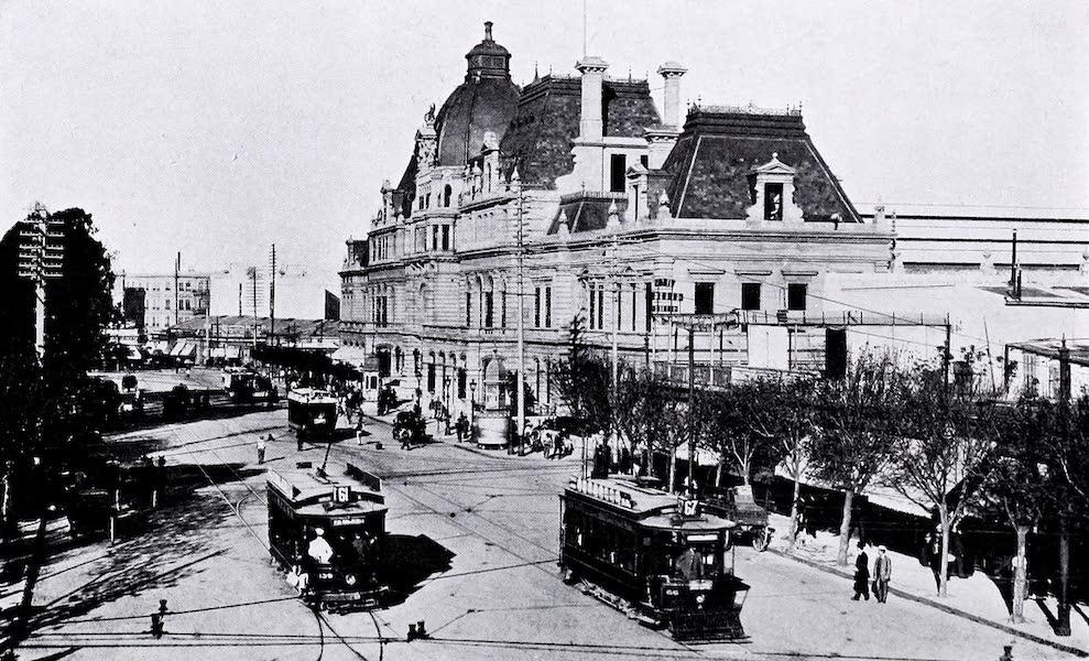 Argentina, Past and Present - Grain Elevators : Bahia Blanca (1914)
