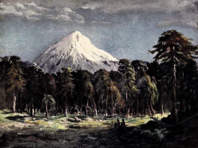 Argentina, Past and Present - Mount Llanin, Southern Andes (1914)