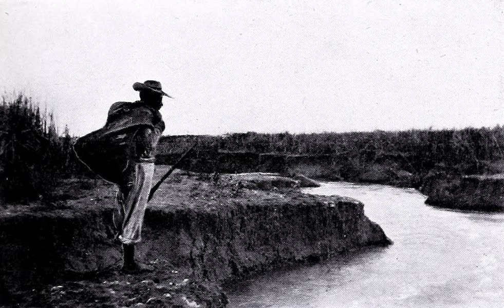 Argentina, Past and Present - A Watercourse Through Alluvial Earth (1914)