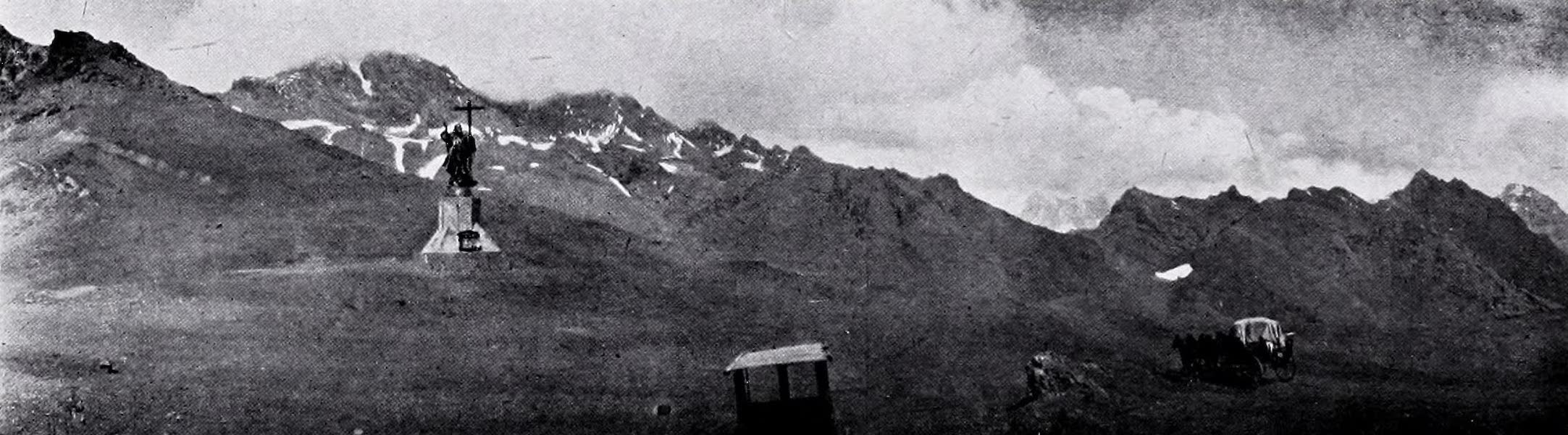 Argentina, Past and Present - Statue of Christ on the Cumbre (1914)