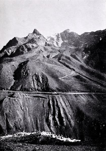 Argentina, Past and Present - An Andine Cutting (1914)