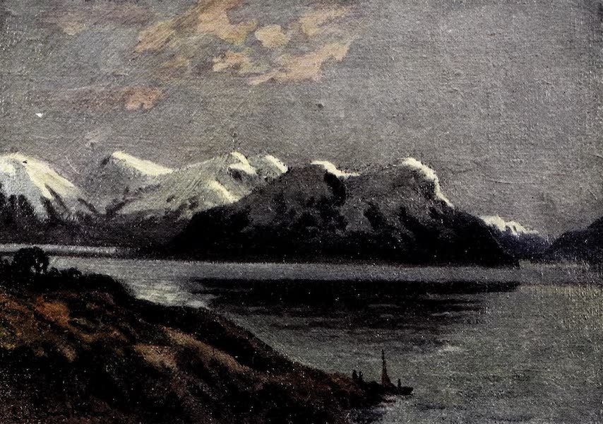 Argentina, Past and Present - Evening on the Canal : Tierra Del Fuego (1914)