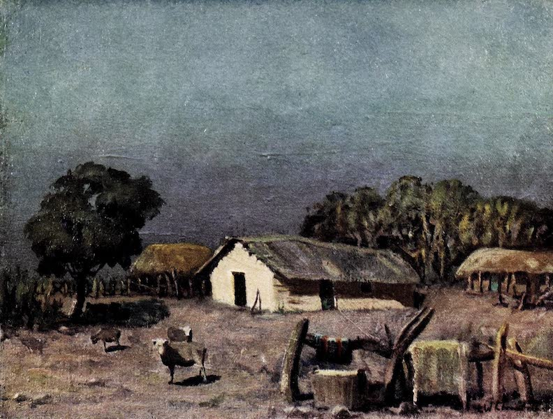 Argentina, Past and Present - Typical Rancho (1914)