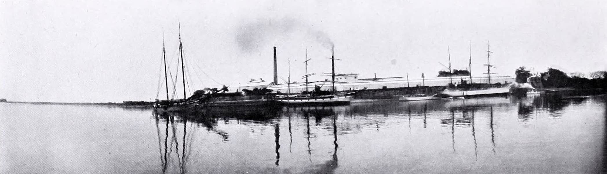 Argentina, Past and Present - Lemco and Oxo Factory : Colon (1914)