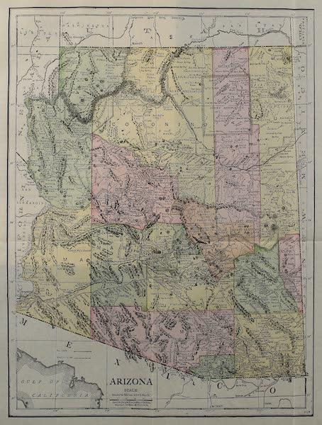 Arizona, The Wonderland - Map of Arizona (1917)