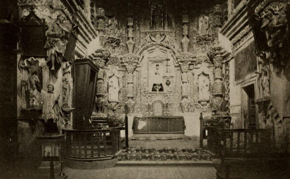 Arizona, The Wonderland - The Interior of Mission San Xavier del Bac, near Tuscan, Arizona (1917)
