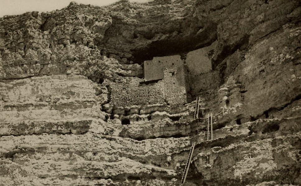 Arizona, The Wonderland - Montezuma Castle, a Prehistoric Cliff Ruin in the Verde Valley, Arizona (1917)