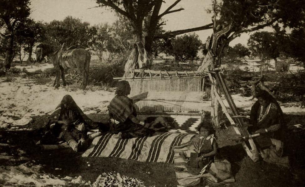 Arizona, The Wonderland - Navaho Blanket and Belt Weavers, Arizona (1917)