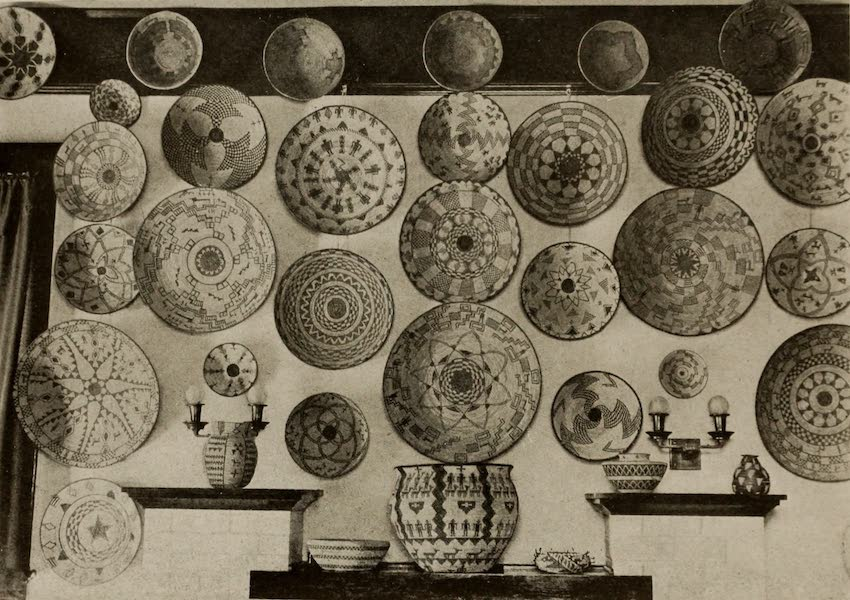 Arizona, The Wonderland - Part of the Collection of Apache Baskets Owned by Mrs. Charles A. Shrader, Tucson, Arizona (1917)