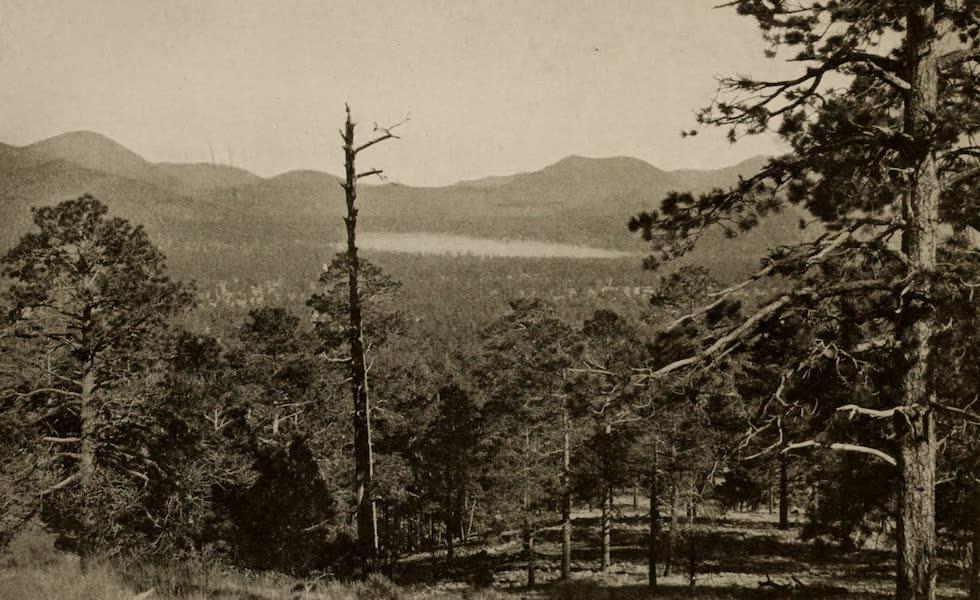 Arizona, The Wonderland - A Lake on a Forest Reserve in Arizona (1917)