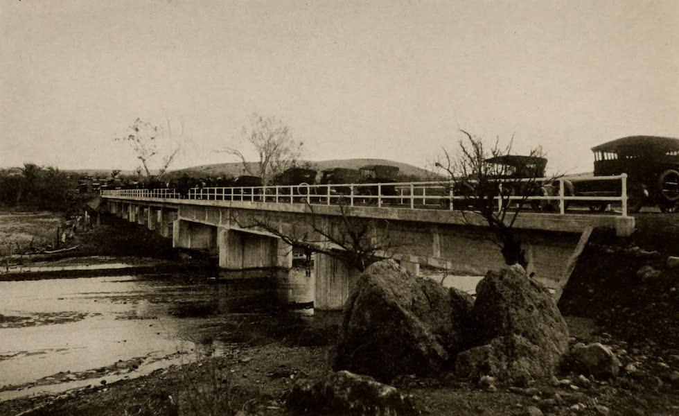 Arizona, The Wonderland - Santa Cruz River Bridge, near Nogales, Arizona (1917)