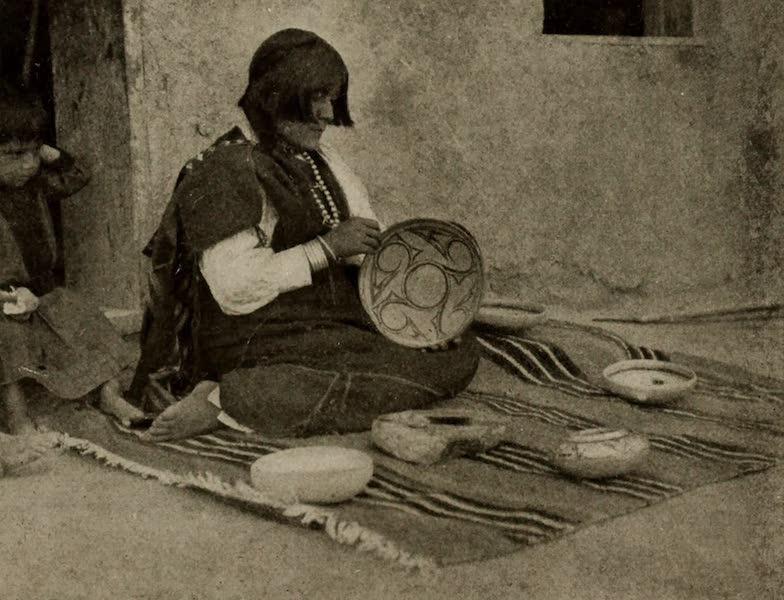 Arizona, The Wonderland - A Pueblo Indian Potter (1917)