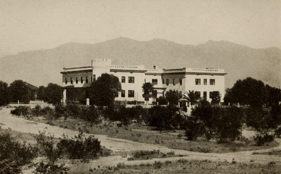 Arizona, The Wonderland - The Tucson Sanitarium, Santa Catalina Mountains in the Distance (1917)