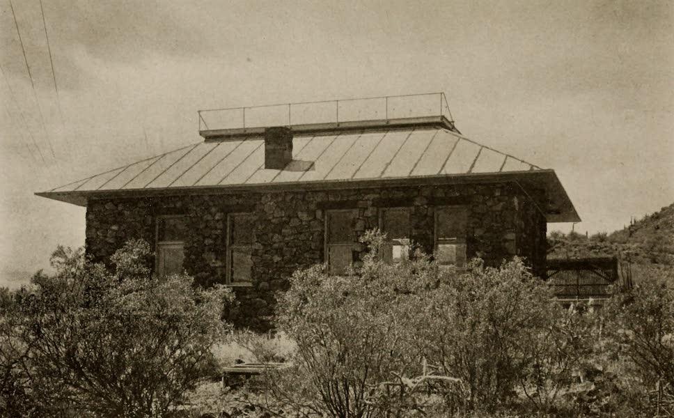 Arizona, The Wonderland - The Photo-Chemical House at the Desert Laboratory, near Tucson, Arizona (1917)