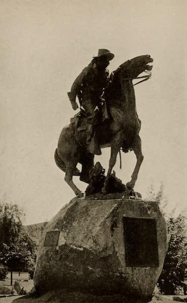 "Arizona, The Wonderland - ""Bucky"" O'Neil Monument, in the Plaza, Prescott, Arizona (1917)"