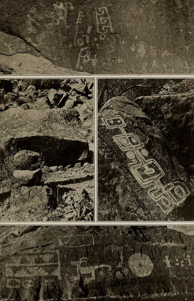 Arizona, The Wonderland - Various Inscriptions and Picture Writings Made by the Prehistoric Indians of Arizona (1917)