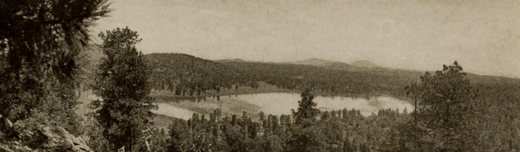 Arizona, The Wonderland - Coleman Lake, near Williams, Arizona (1917)