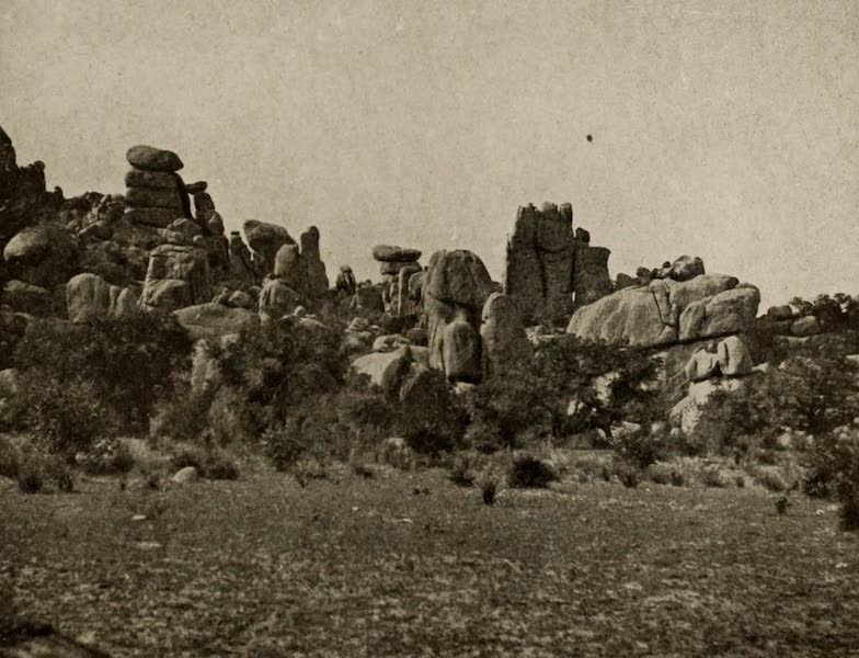 Arizona, The Wonderland - A Portion of Cochise's Stronghold, near Tombstone, Arizona (1917)