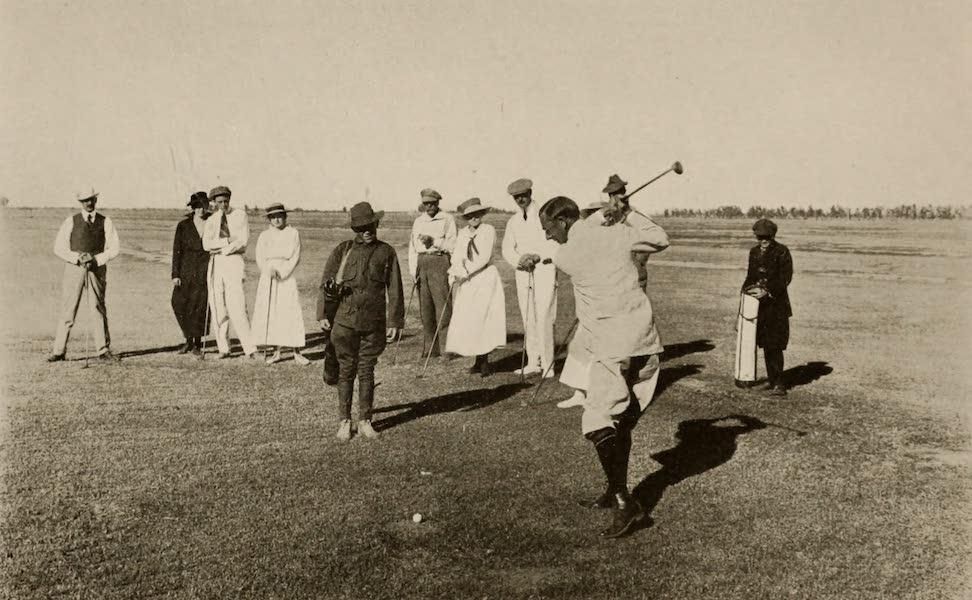 Arizona, The Wonderland - On the San Marcos Golf Links, Chandler, Arizona (1917)