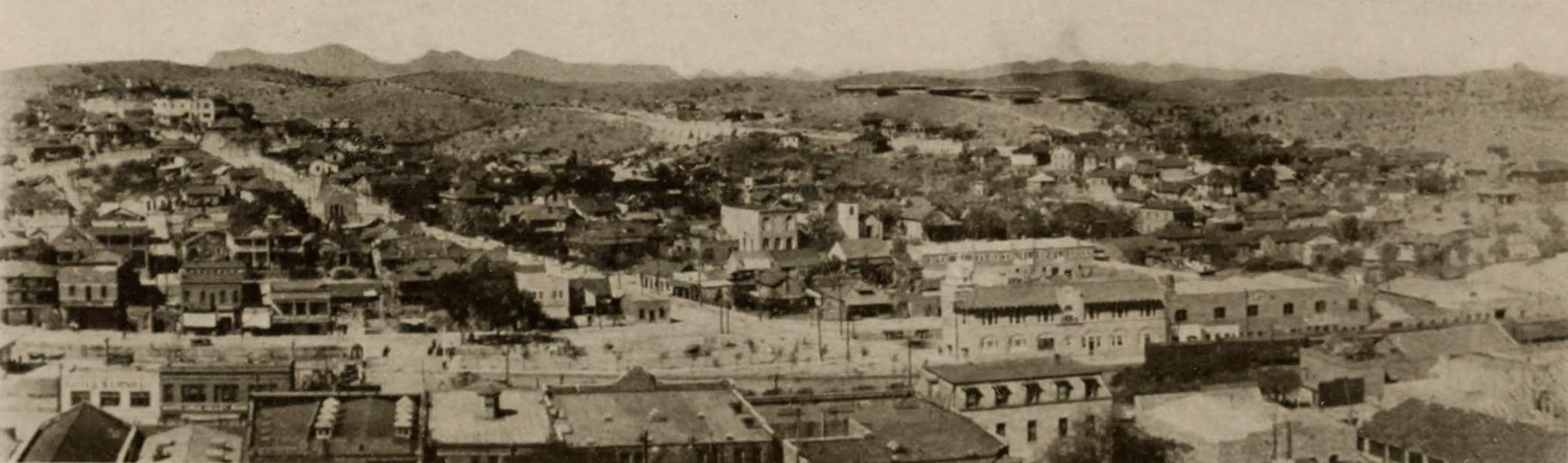 Arizona, The Wonderland - General View of Nogales, Arizona (1917)