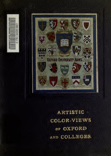 English - Artistic Colored Views of Oxford