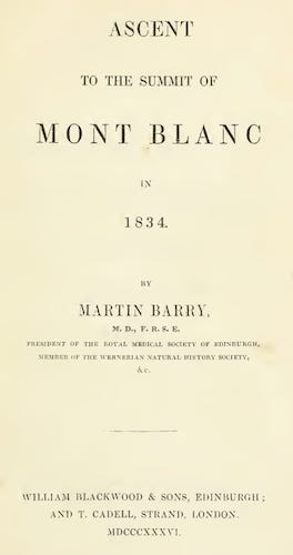 California Digital Library - Ascent to the Summit of Mont Blanc