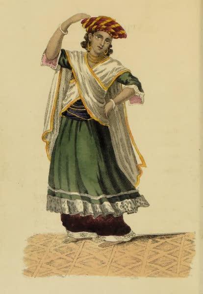 Asiatic Costumes - Bhugteea, Dancing Boy (1828)