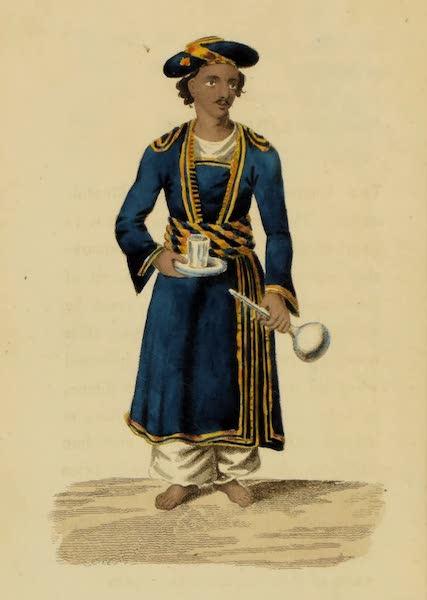 Asiatic Costumes - Khidmutgar, or Waiter (1828)