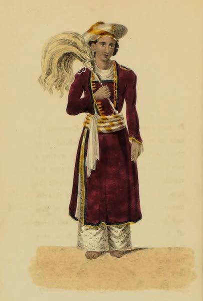 Asiatic Costumes - Khidmutgar, or Fly-flapper (1828)