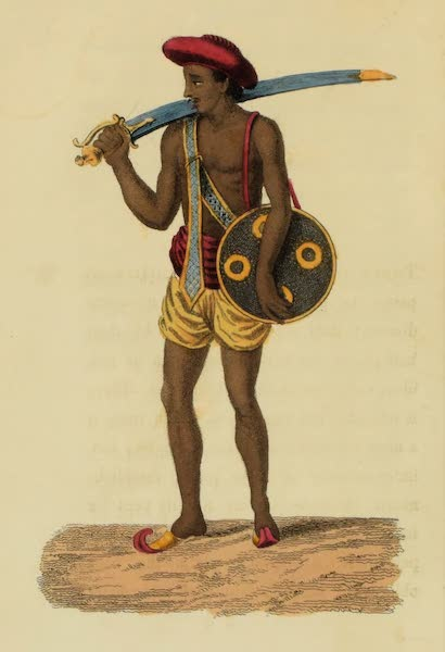 Asiatic Costumes - Choakee-dar, or Watchman (1828)
