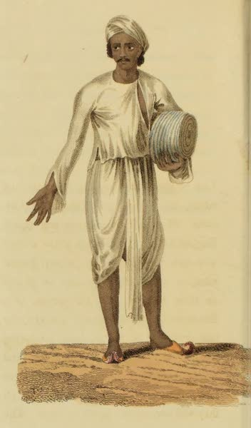 Asiatic Costumes - A Surcar, or Agent (1828)