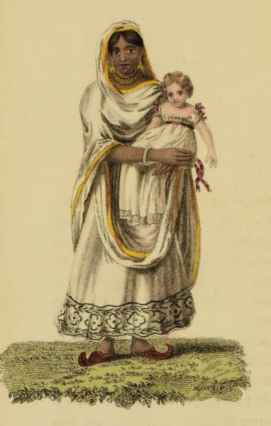 Asiatic Costumes - Dace or Ayah - A Nurse (1828)
