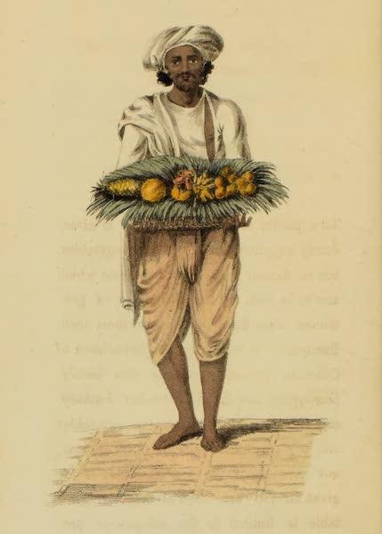 Asiatic Costumes - A Gardener (1828)