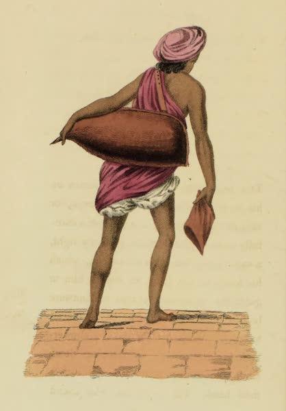 Asiatic Costumes - Bihishtee, or Water Carrier (1828)